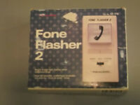 REALISTIC PHONE FLASHER  IDEAL FOR THE HEARING IMPAIRED