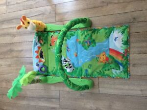 3-in-1 Rainforest Infant Activity Mat by Fisher Price
