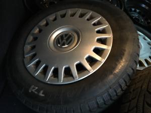 "15"" BFGoodrich Winter Tires on Rims - 195/65R15"