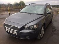 Bargain big luxury Volvo v50 diesel estate, full leather, long MOT, FSH just serviced