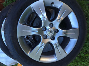 Toyota Sienna 4 tires on rims GOOD AS NEW