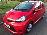 TOYOTA AYGO 1.0 MOVE (2014) 3 DOOR 998 CC RED + FULL TOYOTA SERVICE HISTORY