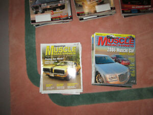 """Over 100 """"Muscle Machine"""" magazines (2004 to 2015)"""