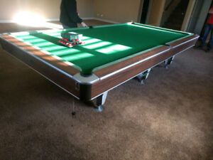12x6 snooker table