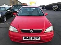 2000 Vauxhall Astra 1.6 i Club 5dr (a/c)