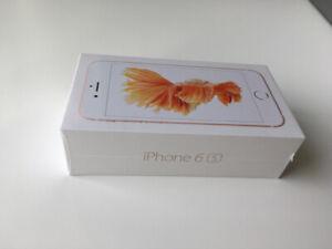 Brand new unlocked iPhone 6S 32G rose gold $320