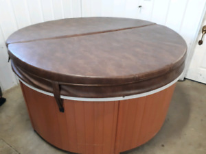 4 person hot tub in good condition