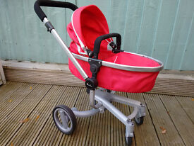 Silver Cross surf doll's pram - red - excellent condition