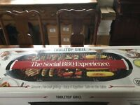 The social BBQ Experience tabletop grill