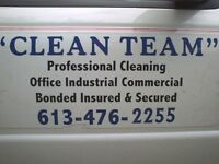 """CLEAN TEAM is accepting new clients"