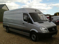 Mercedes-Benz Sprinter 2.1TD 313CDI LWB IN SILVER LIGHT USE
