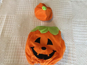 Pumpkin costume for baby, up to 12-24 months
