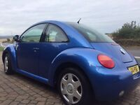 Volkswagen Beetle 2.0 2dr PRIVATE PLATE included G4 POE TESTED TILL JUNE 2017