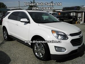 2016 Chevrolet Equinox LT AWD Navigation Bluetooth 4Cylinder SUV