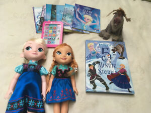 Frozen books and dolls