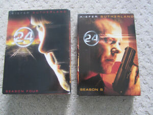 Seasons 4 And 5 of 24 on DVD