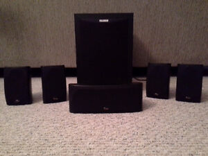 Polk Audio RM6750 Black 5.1 CH Home Theater Speaker System