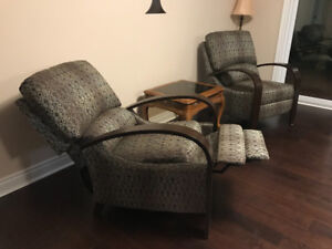 **BRAND NEW - 2 Comfy Recliner Chairs