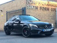 2016/66 MERCEDES-BENZ C43 AMG EDITION 1 PAN ROOF P/X RS3 S3 GOLF R GTD S4 C63 RS