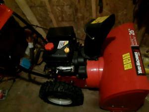 I have like new snow blower from last year