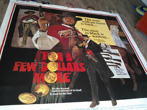 Eastwood few $ more poster, wiling to trade