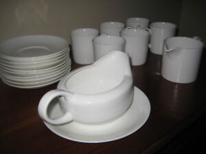 Wedgwood Bone China formal white, 23-piece set