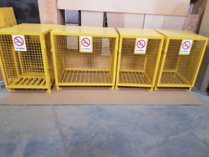 Brand new propane cages for sale !!!!!!!
