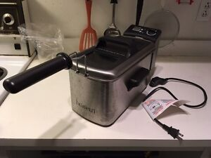 Bravetti electronic deep fryer