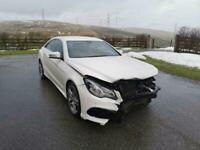 Mercedes-Benz E220 2.1CDI 7G-TRONIC PLUS AMG SPORT 2013 (63) DAMAGED REPAIRABLE