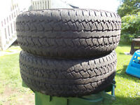 p275/65/18 inch all season truck tires / GOOD DEAL
