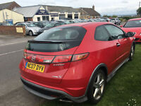 Honda Civic 2.2i-CTDi Type S 3DR 07/07