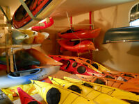 brand new necky kayaks and old town canoes and kayaks