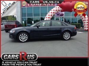 2014 Audi A4 AWD  FINANCE AND GET FREE WINTER TIRES!