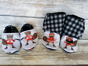 9-12 Month Stay on Shoes/Booties