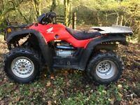Honda 350 4x4 farm quad