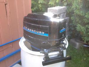 Mercury 25hp ..bateau chaloupe johnson evinrude ..