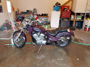 Selling a Honda shadow 600cc