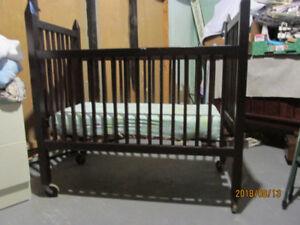 bassinette avec matelas pour bébé de 0 à 3 mois
