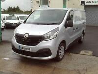 Renault Trafic SL27 swb Business+ 115ps DIESEL MANUAL SILVER (2015)