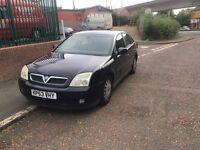 Vauxhall vectra, DTI black, 53 PLATE,
