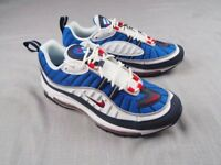 "Nike Air Max 98 "" White University Red Royal Blue"" - Limited sizes -full boxed"