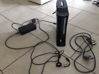 Xbox 360 Elite 120gb for parts or repair