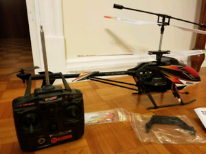 This is skyhawk helicopter still in the box