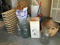 COMPLETE WINE MAKING KIT AND EQIPMENT