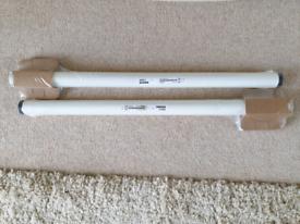 Ikea Adils White Desk Legs x 2 New