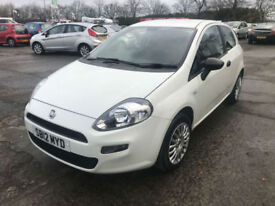 12 REG Fiat Punto 1.2 8v ( 69bhp ) START STOP IN WHITE