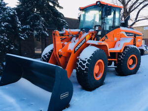 Doosan Wheel Loaders for Snow Removal Specials