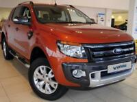 2015 Ford Ranger Pick Up Double Cab Wildtrak 3.2 TDCi 4WD Diesel orange Manual