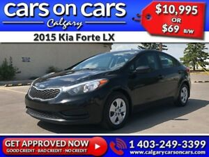 2015 Kia Forte LX $0 DOWN, $69 B/W! APPLY NOW!
