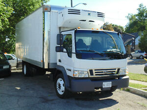 2007 FORD Reefer Truck